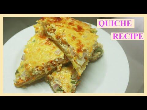 Quiche recipe. Short crust.
