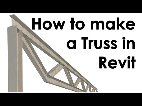 How to Create a Truss in Revit - YouTube