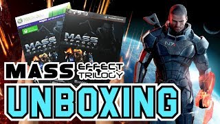 Mass Effect Trilogy (PS3/Xbox 360) Unboxing !!