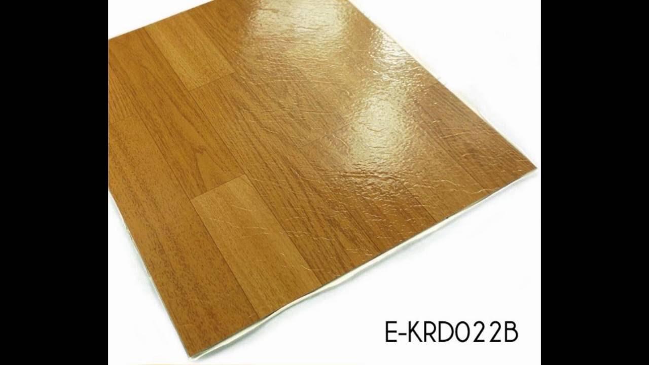 Classic Wood Grain Self Adhesive Vinyl Floor Tiles Supplier Youtube