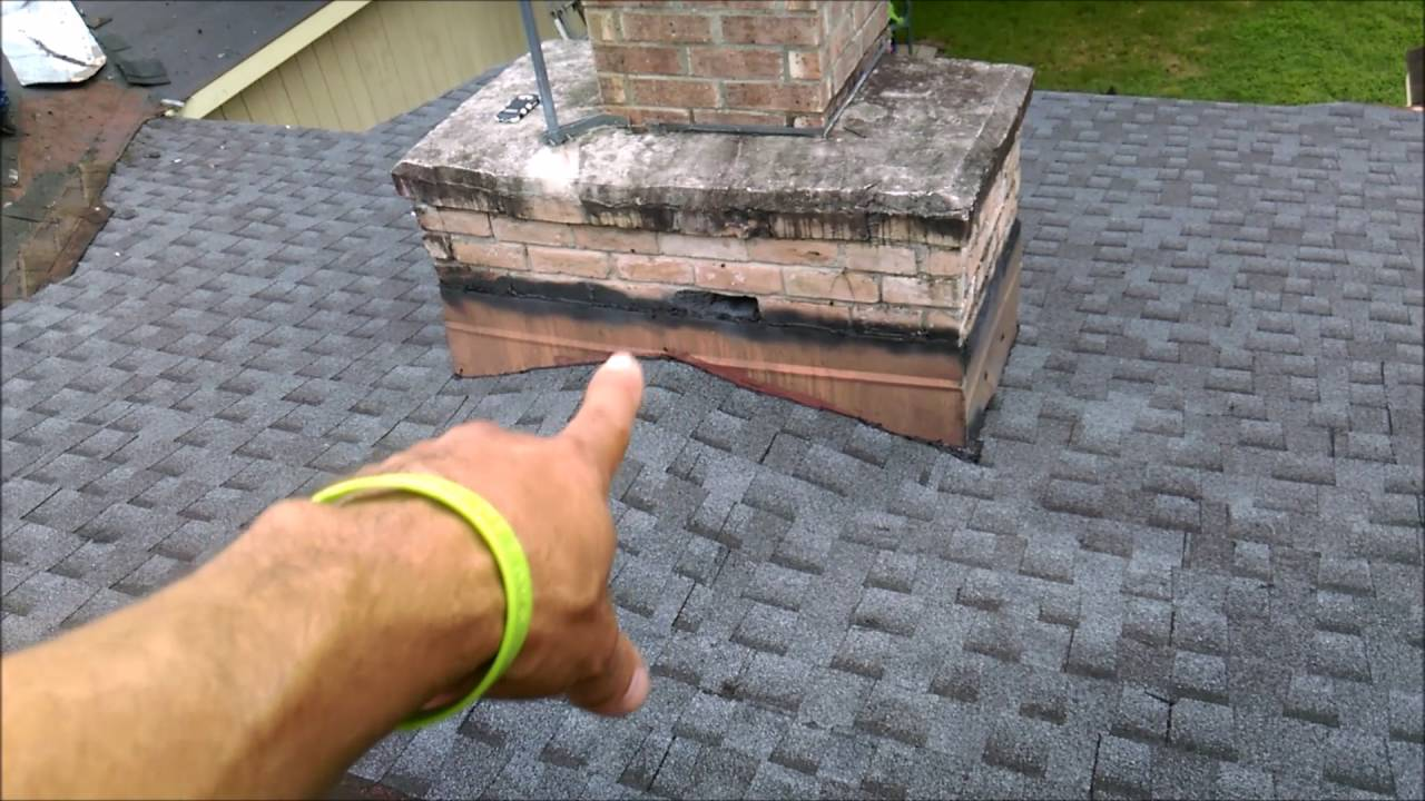 HOW TO ROOF CHIMNEY CRICKET - YouTube
