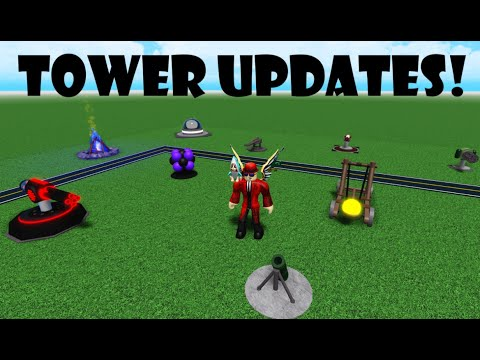 ***NEW*** Tower Buffs And Debuffs! (+ Other Updates) | Cube Defense Roblox