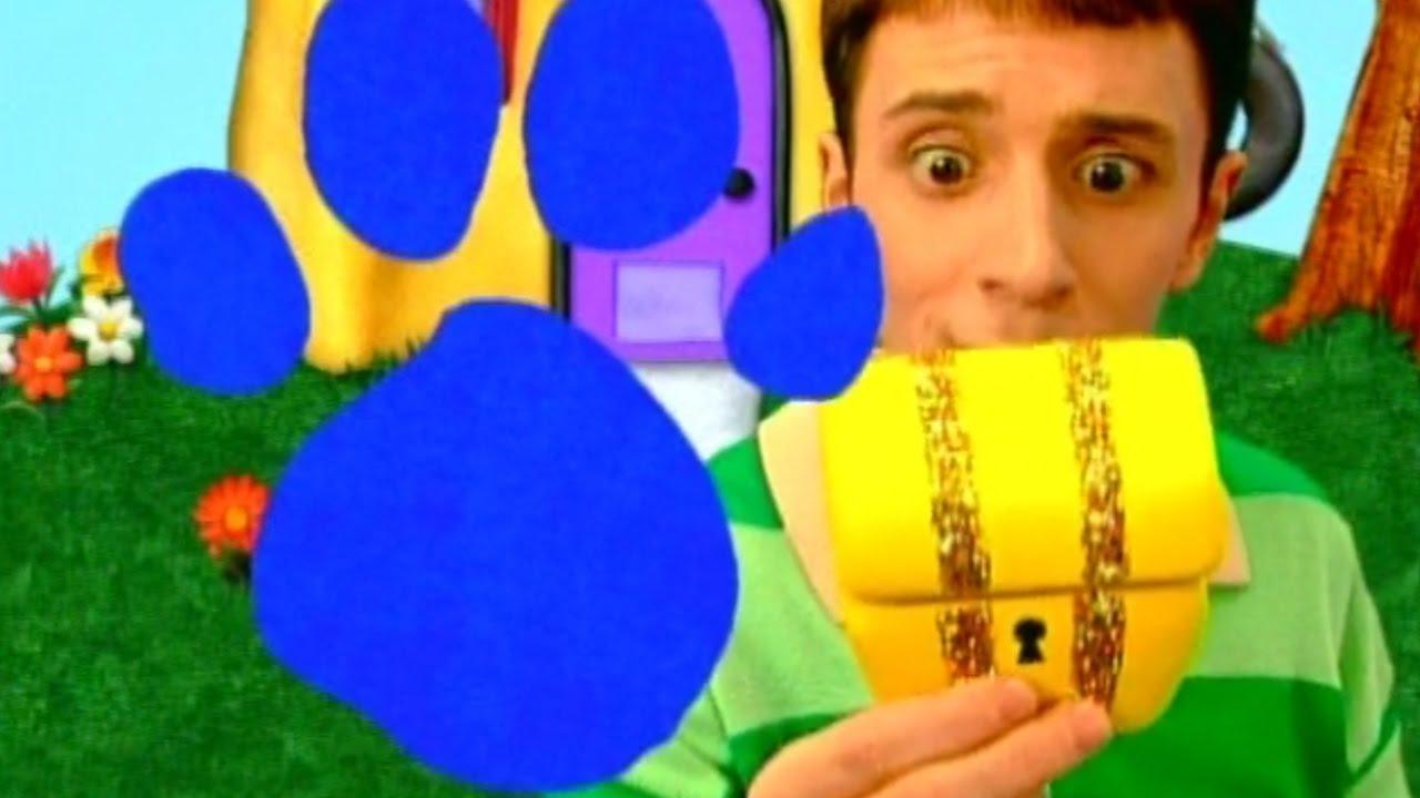 Blue's Clues: Blue's Big Treasure Hunt - YouTube