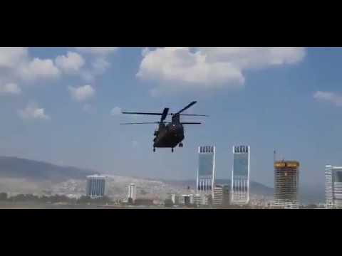 Türkiye'ye CH47F Chinook  Teslimatı Tamamlandı