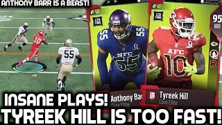 TYREEK HILL IS TOO FAST! PRO BOWL ANTHONY BARR IS UNSTOPPABLE! Madden 18 Ultimate Team