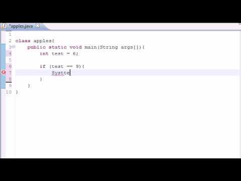 Java Programming Tutorial - 10 - If Statement