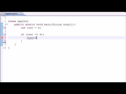 Java Programming Tutorial - 10 - If Statement
