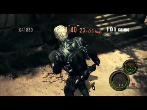 Resident Evil 5 HD PS4 union mercenarios