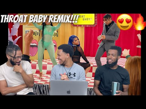 FIRE!!! BRS Kash – Throat Baby Remix feat. @DaBaby and @City Girls [Official Music Video] Reaction!!