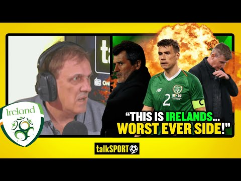 """""""IRELAND ARE AWFUL!"""" Tony Cascarino SLAMS the Republic of Ireland after their loss to Luxembourg!"""
