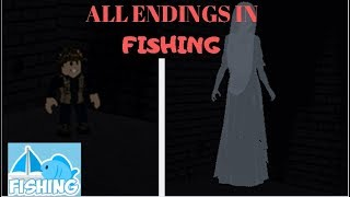 ROBLOX Fishing l All 2 Endings (James Rblx)