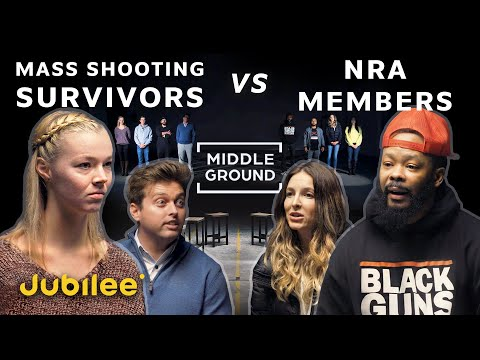 Mass Shooting Survivors vs NRA Members | Middle Ground