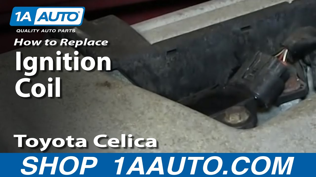hight resolution of how to replace ignition coils 00 05 toyota celica