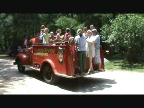 Canoe River Antique Fire Engine Rides.mpg