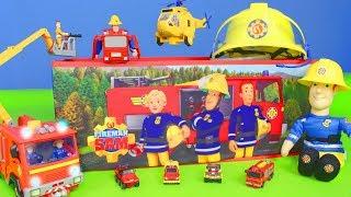 Feuerwehrmann Sam Unboxing: Neue Beste Feuerwehrautos & Spielzeugautos für Kinder | Deutsch
