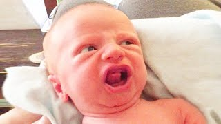 Cute Baby Says First Word - Funny Baby Videos