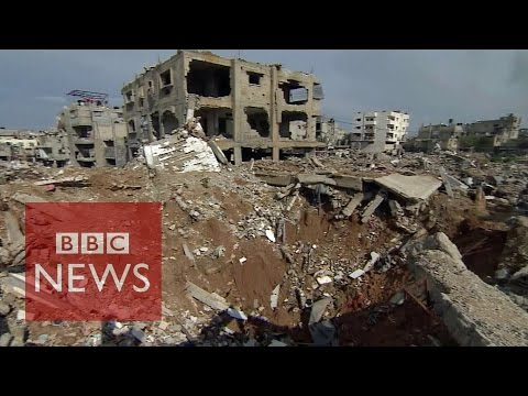 Gaza: Why is no-one rebuilding it? BBC News