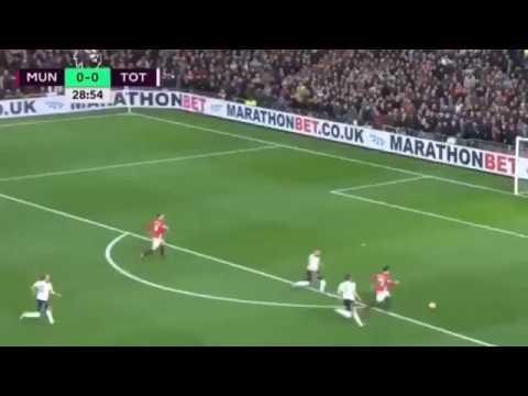 Манчестер Юнайтед - Тоттенхэм 1-0 Генрих Мхитарян ПЕРВЫЙ ГОЛ ЗА МАНЧЕСТЕР