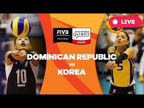 Dominican Republic v Korea - 2016 Women