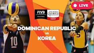 Dominican Republic v Korea - 2016 Women's World Olympic Qualification Tournament