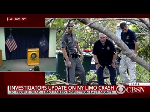Limo crash latest news: NTSB gives update on deadly crash in upstate New York