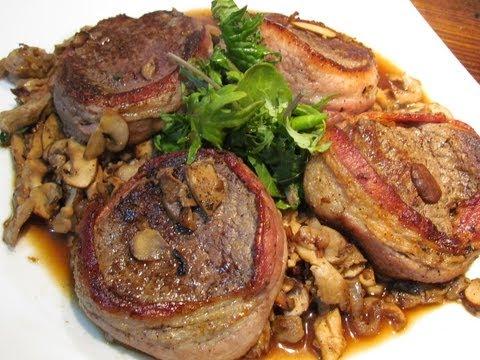 Bacon wrapped beef tenderloin youtube bacon wrapped beef tenderloin ccuart Choice Image