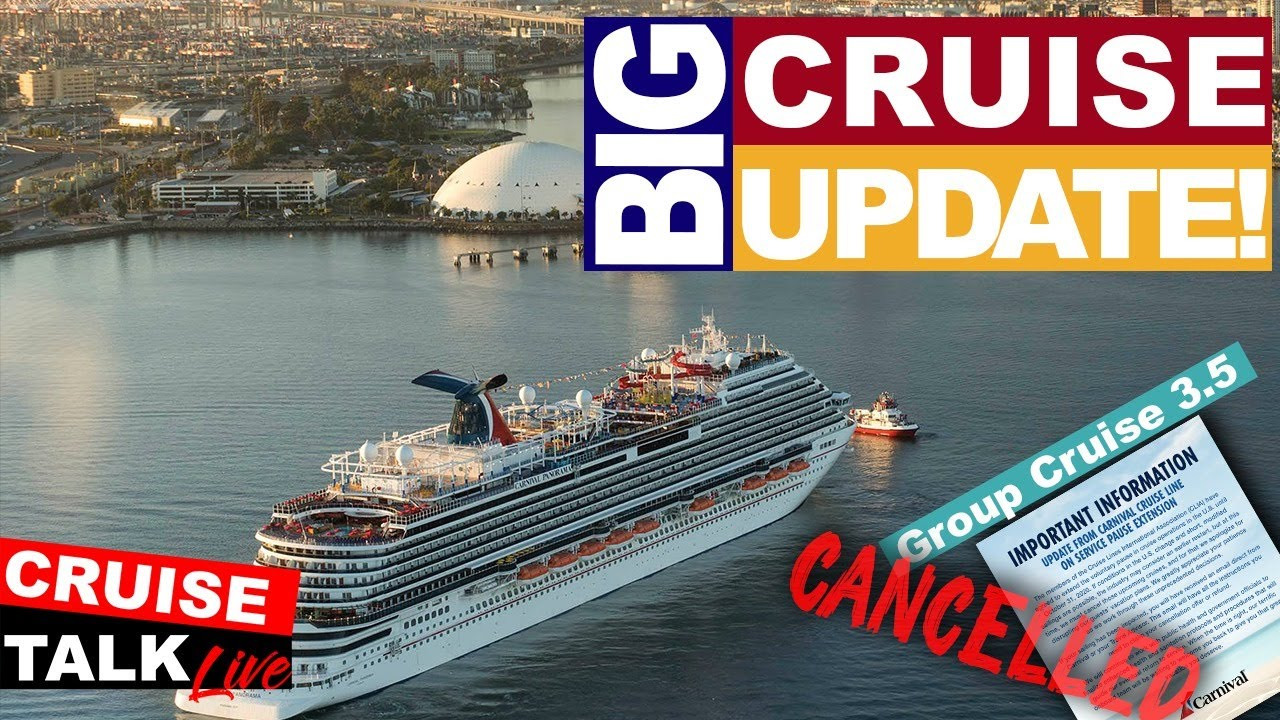 🔴CRUISE TALK LIVE! | BIG Cruise Update!! | Carnival, Royal Caribbean Cancelations and MORE!