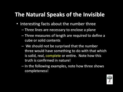 4) The Significance of the Number Three!