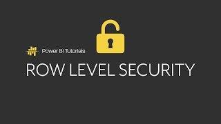 Power BI Dynamic Row Level Security 1