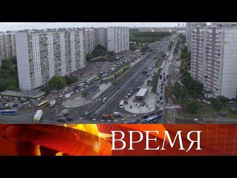В Москве запустили движение по участку Боровского шоссе, около станции «Новопеределкино».