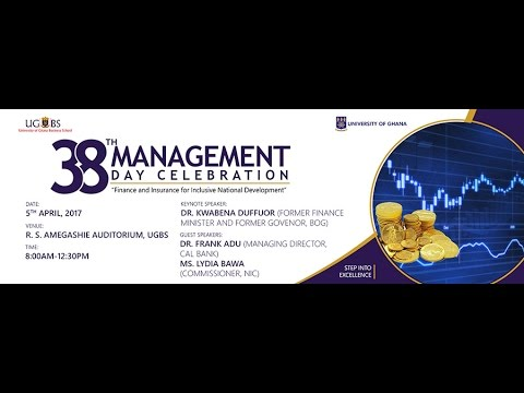University of Ghana Business School 38th-Management Day Celebration