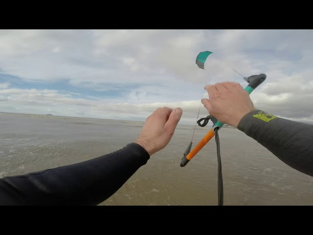 WSM TEN kiteboarding Pinna and Off Grid Sports Flare