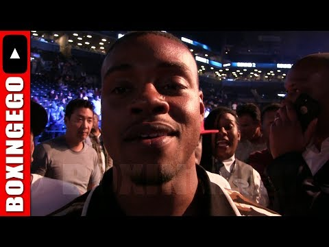 ERROL SPENCE JR NEXT FOE COULD BE LUIS COLLAZO OR LAMONT PETERSON (EGO RUMOR MILL)