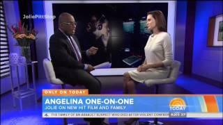 Angelina Jolie Talks Unbroken, New Film with Brad Pitt, Chicken Pox