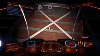 Elite Dangerous: UA recovery from station wall