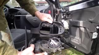 Citroen c5 - 2 Ремонт зеркала / Mirror repair