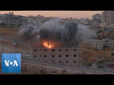 Israel Begins Demolition Of Palestinian Homes