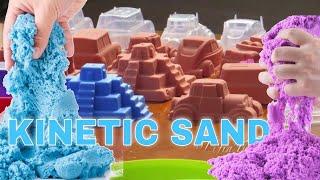 Mainan Anak Pasir Ajaib Warna Warni - Kinetic Sand DIY Kid Toys