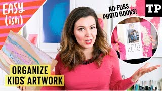 Kids' artwork: how to manage, store + organize (PLUS: cute display ideas!) | Easy(ish) S02E02