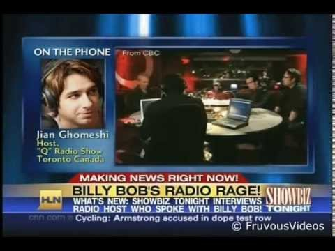 Jian Ghomeshi and the Billy Bob Thornton Interview (CNN)