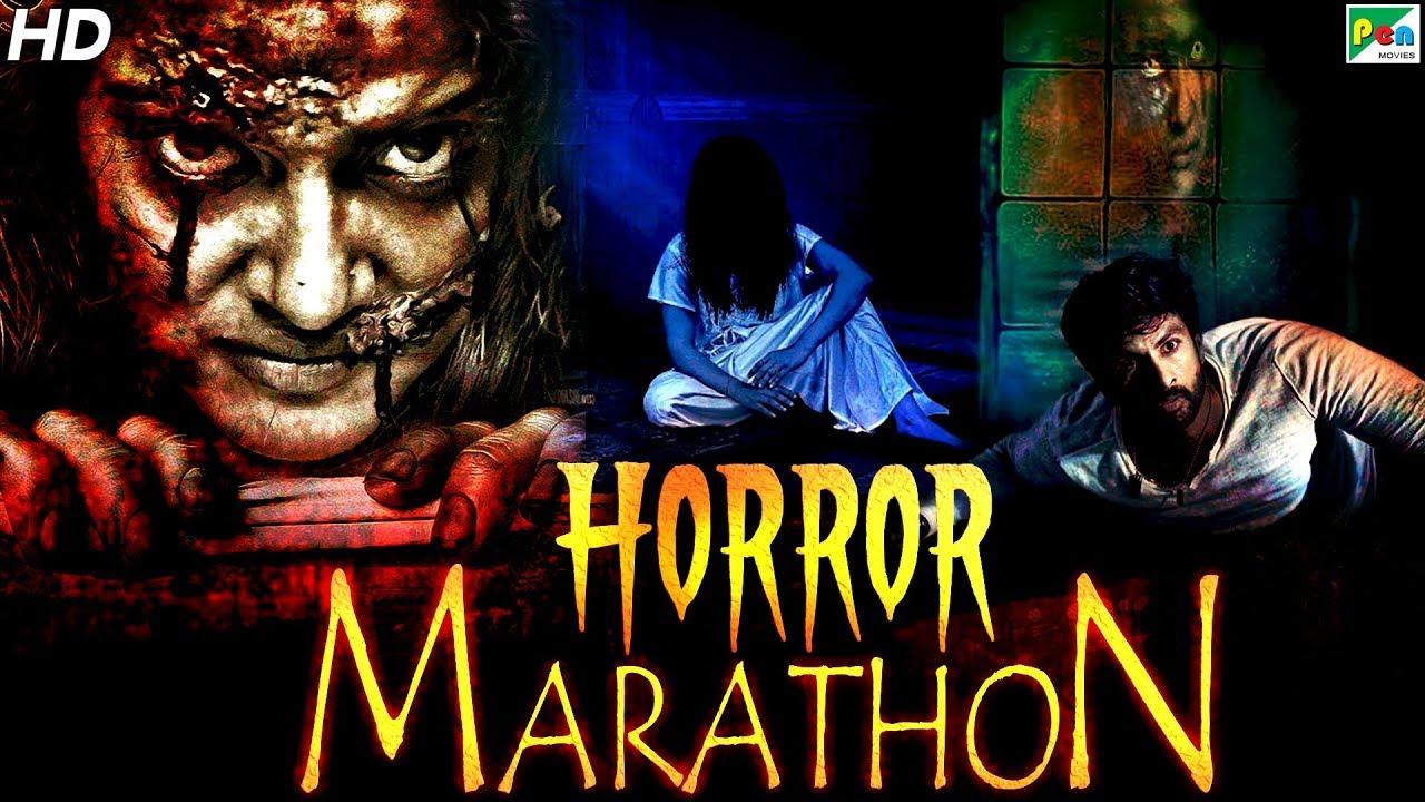 Horror Movies Marathon New Hindi Dubbed Movies 2020 Kaher Ek Raat Dayen House 100 Youtube