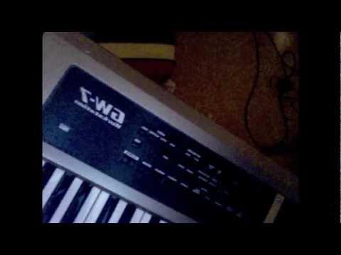 Roland GW-7 Synth Setup