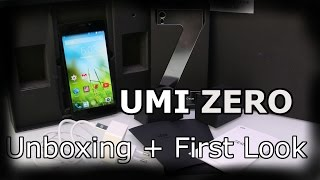 UMI Zero - Unboxing and First Look - High Quality and Performance Flagship 2014 [HD]