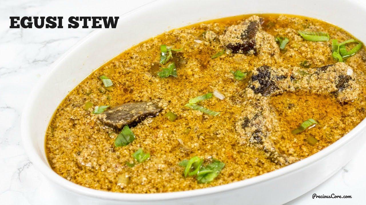 Egusi Stew Precious Core
