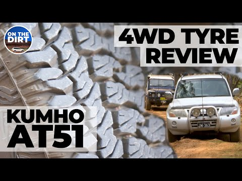4WD Tyre Review - Kumho AT51's On The Pajero And Defender
