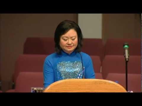KIM PHUC TALKS ABOUT FORGIVENESS