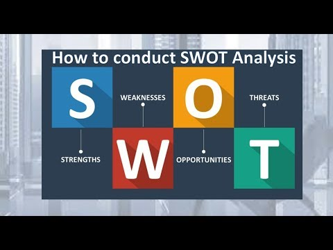 How to Conduct SWOT Analysis in a business? (Strengths, Weaknesses, Opportunities, Threats)