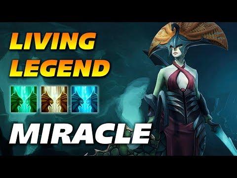 Miracle Naga Siren [REAL LEGEND] Dota 2 Pro Gameplay