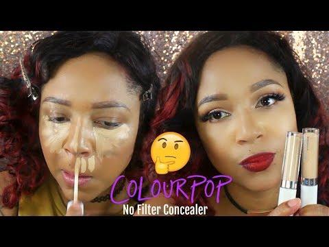 ColourPop No Filter concealer   First Impression