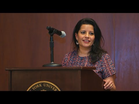 Sukti Dhital discusses the mission of the NYU Initiative for Human Rights Innovation
